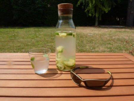Citronnade saine et rafraîchissante