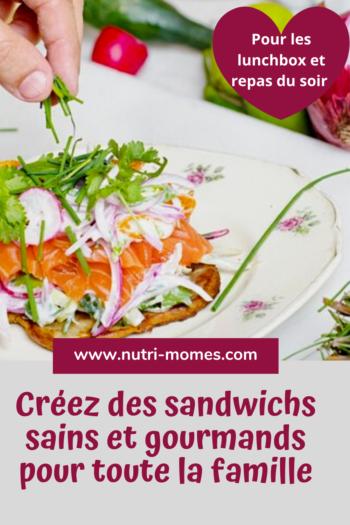 Sandwich gourmand : recettes variées