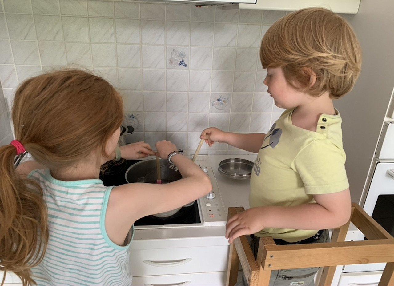 Capacités des enfants en cuisine