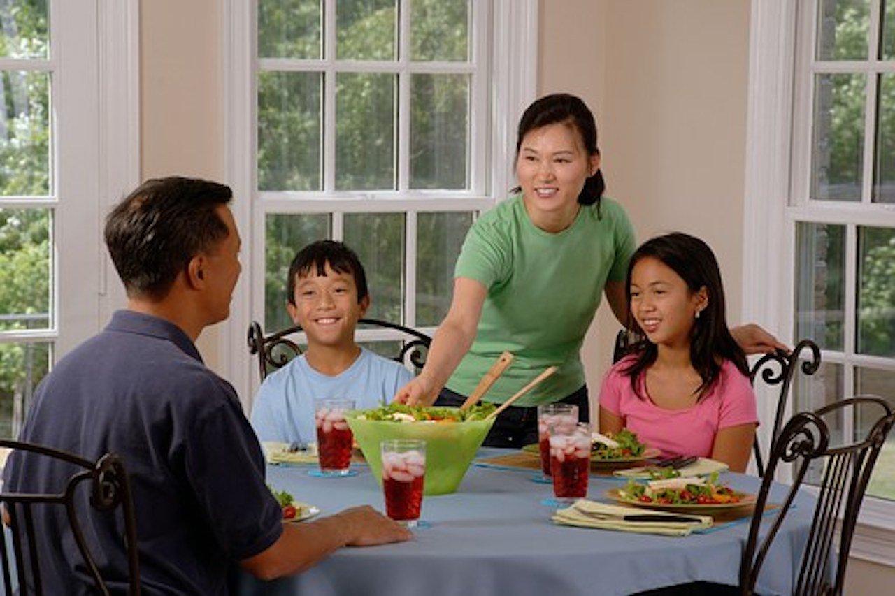 Repas sereins en famille