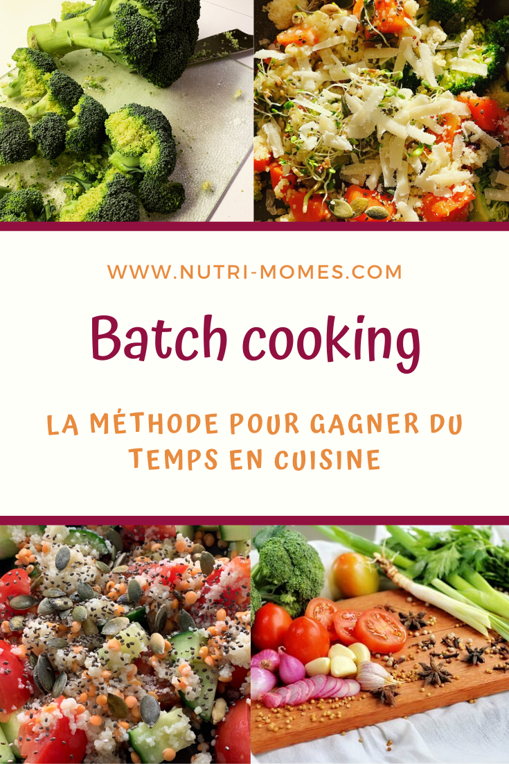 La méthode du batch cooking
