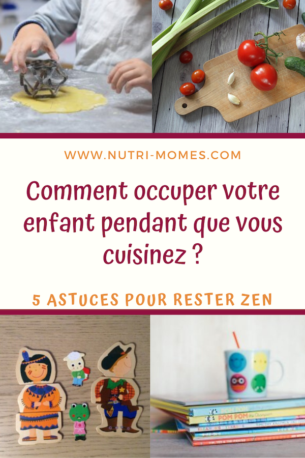 Occuper son enfant quand on cuisine
