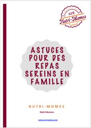 E-book : repas sereins en famille