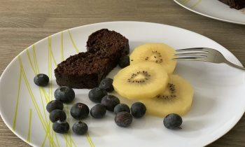 Cake chocolat courgette : recette sans beurre