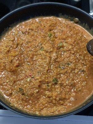 Mélange de légumes pour lasagne